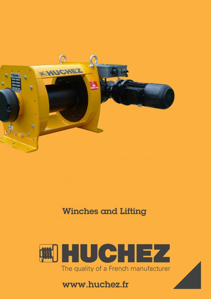 HUCHEZ winch catalogue