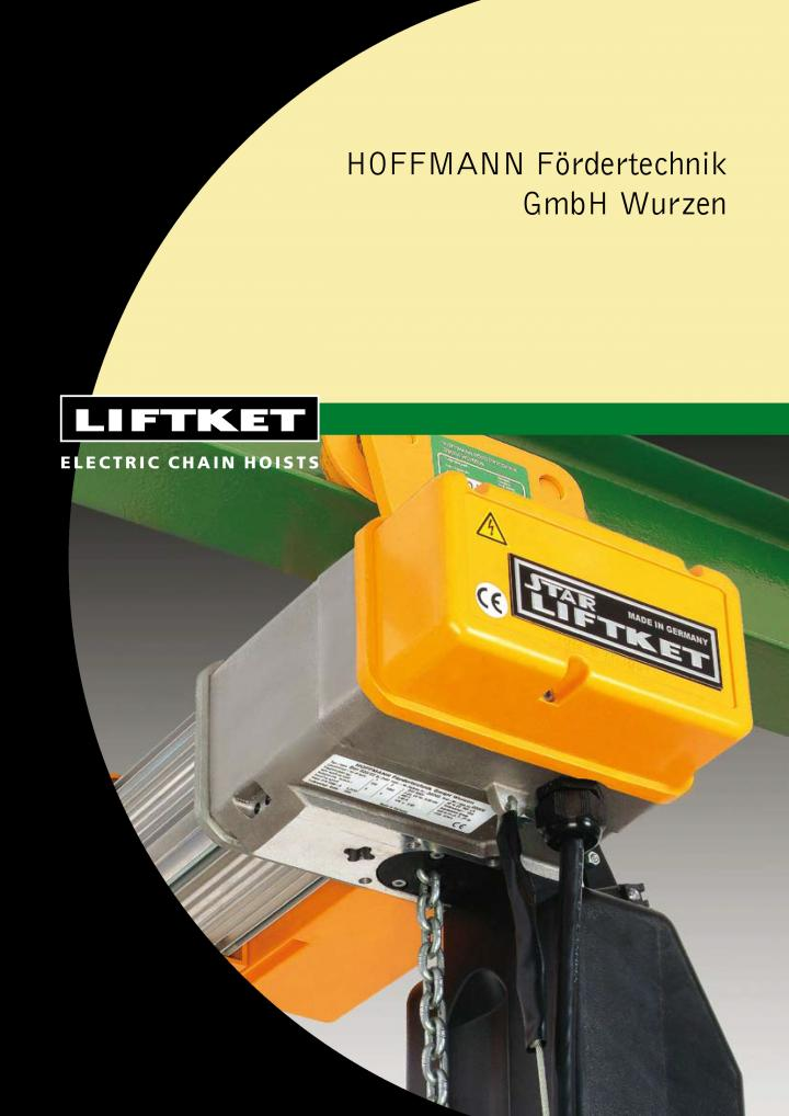 Liftket electric chain hoists